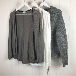 Clothing Lot Small Medium Cardigan Top Sweater